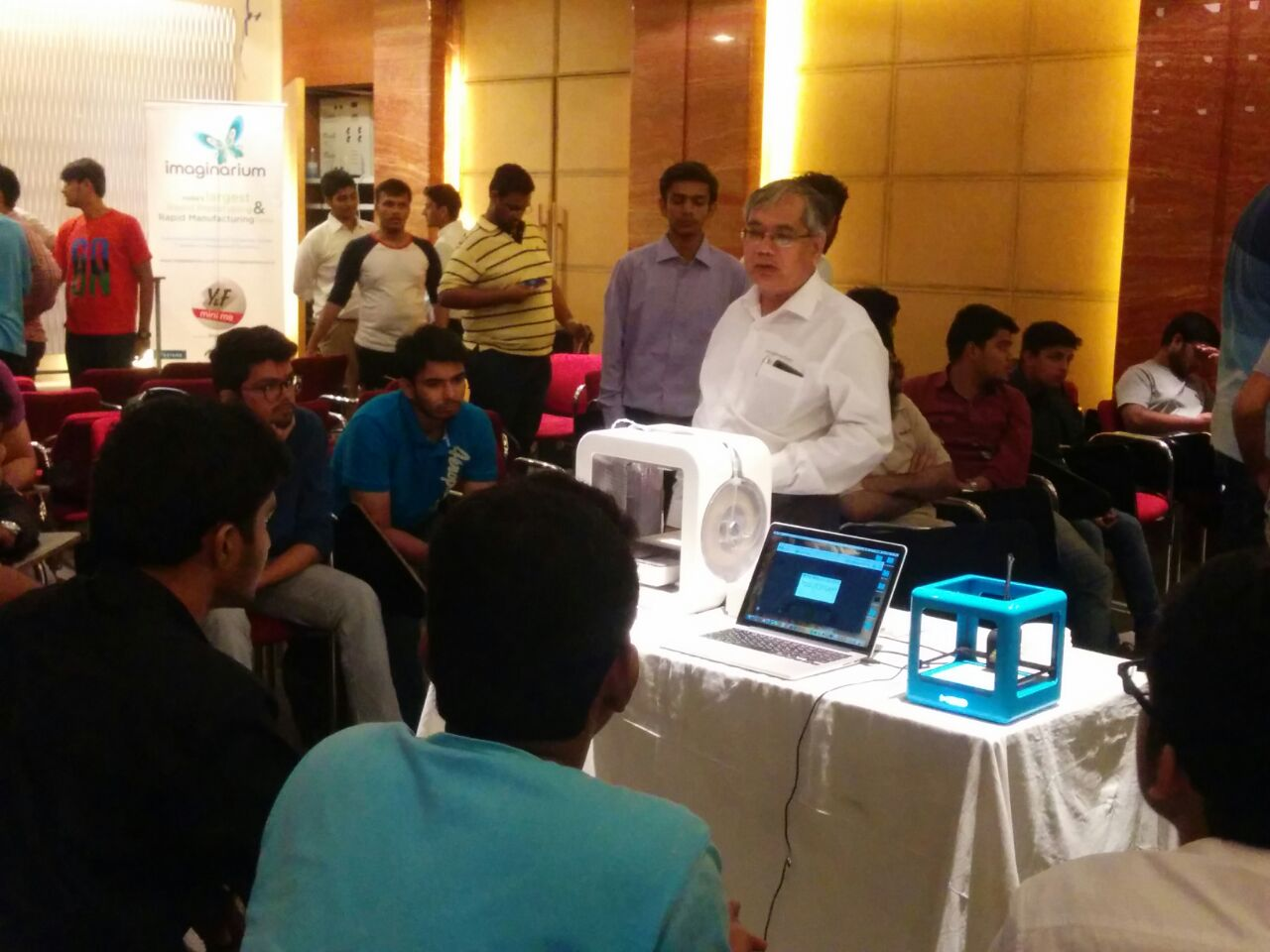 3 D Printing Seminar Conducted by DrRao  from Imagnerium