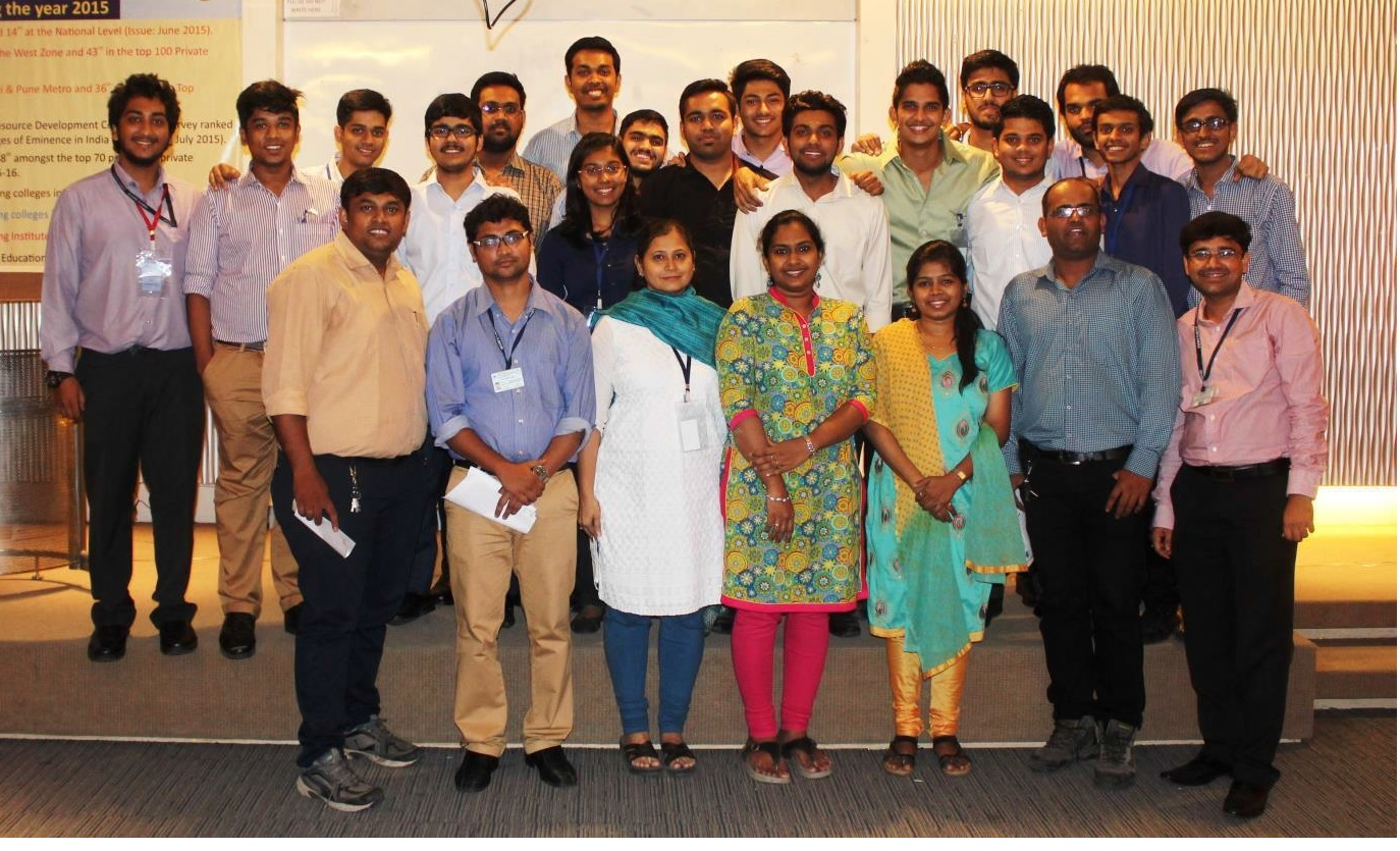 Organising Team for Seminar & Project Competition on -Make in India  Igniting Manufacturing Renaissance.