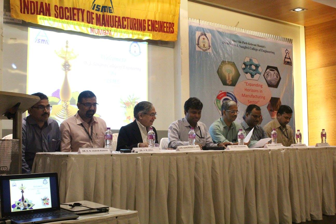 Seminar on -Expanding Horizons of Manufacturing Sector (2015)